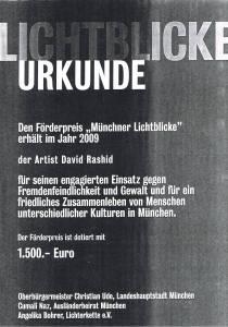 2009 Zertifikat Lichterkette