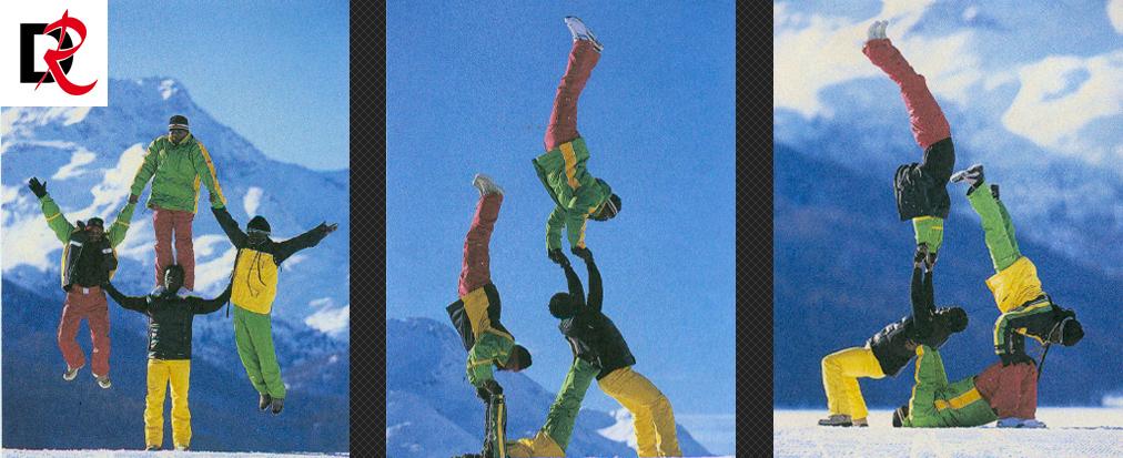 Bogner-Winterakrobatik